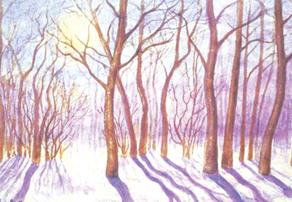 Чижевский известен и как художник-пейзажист.