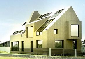 Такой дом наносит минимум ущерба окружающей среде