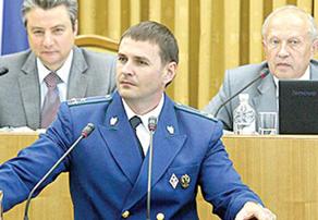С трибуны Законодательного Собрания Д.В.Демешин ответил на вопросы депутатов
