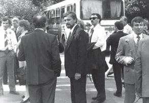 Валерий Штоббе (крайний справа)