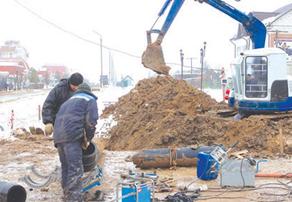Ремонт водопровода в Малоярославце по программе Чистая вода