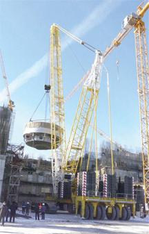 Строительство реактора БН-800