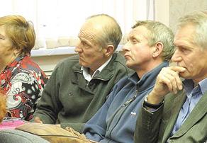 На публичные слушания пришли те, кто хотел поддержать свои общественные инициативы