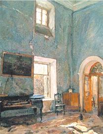 Валентин Серов. Зал старого дома
