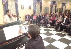 Концерты  во  флигеле    Белкинской  усадьбы    — изюминка культурных мероприятий парка