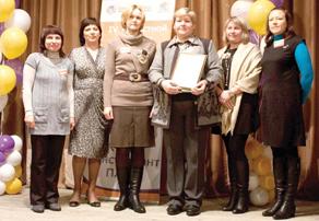 Татьяна Аникеева и участники конкурса