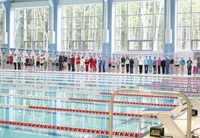 Открытие спорткомплекса Олимп стало одним из главных cобытий 2012 года в Обнинске