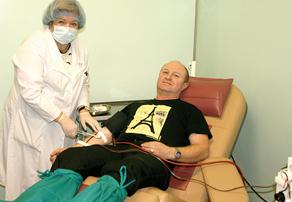 Обнинская станция переливания крови: число желающих сдать кровь не уменьшилось