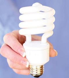 В такой лампочке содержится несколько миллиграммов опасного вещества