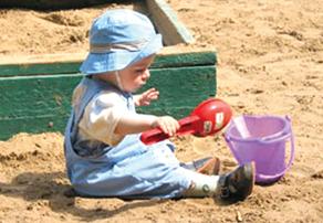 Песочница может быть источником повышенной опасности