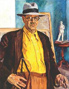 Петр Кончаловский. Автопортрет