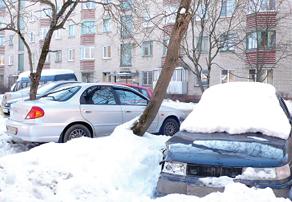 Прежде чем покупать машину, надо подумать о месте ее хранения