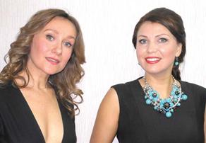 Ольга Годунова и Екатерина Лехина