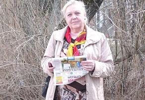 Светлана Маркушевская. Она много сделала для сотрудников Карповки. Теперь в планах — добиться выплат 13-й зарплаты