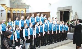Обнинский хор мальчиков Алые паруса в Испании