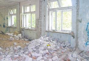 Так внутри выглядит здание по ул. Пирогова, 15