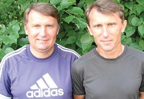Братья Морозовы, Алексей (слева) и Олег