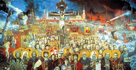Картина Ильи Глазунова «Вечная Россия» станет лучшей иллюстрацией к единому учебнику истории
