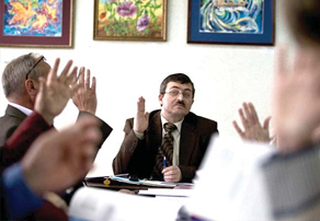 Андрей Ковалев во главе коммунистической Думы