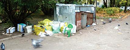 Фото с сайта администрации. Прошлогодние злостные нарушители – жилые дома на пр.Ленина. Что будет этой весной?