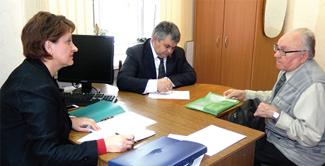 Прием у министра здравоохранения Елены Разумеевой