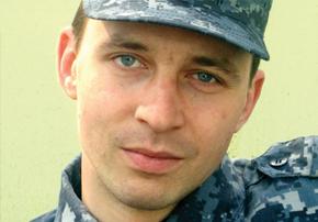 Лейтенант полиции Алексей Жеребцов