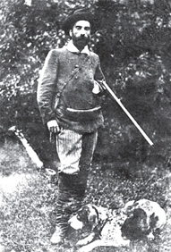 Исаак Левитан на охоте