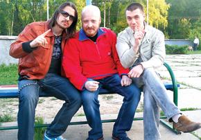 Слева направо — Максим Овчинников, Павел Талантов и Игорь Банщиков