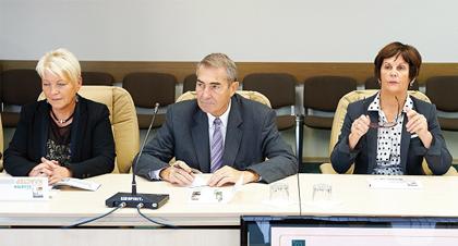 Французская делегация в Обнинске